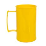 Caneca acrilica 300 ml amarelo
