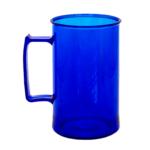 Caneca acrilica 300 ml azul royal