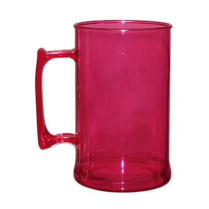 Caneca acrilica 300 ml rosa