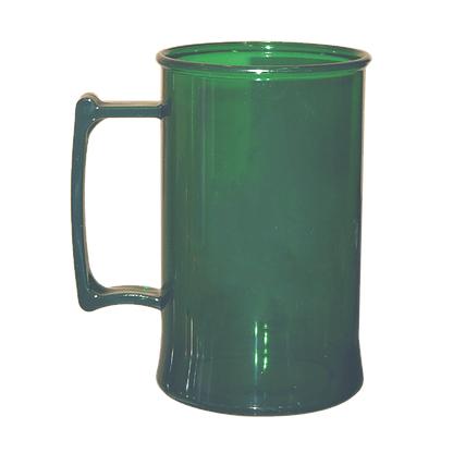 Caneca acrilica 300 ml verde bandeira