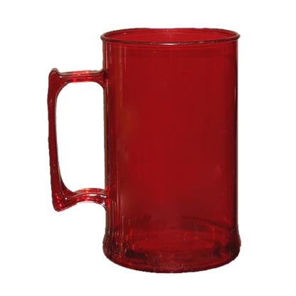 Caneca acrilica 300 ml vermelho
