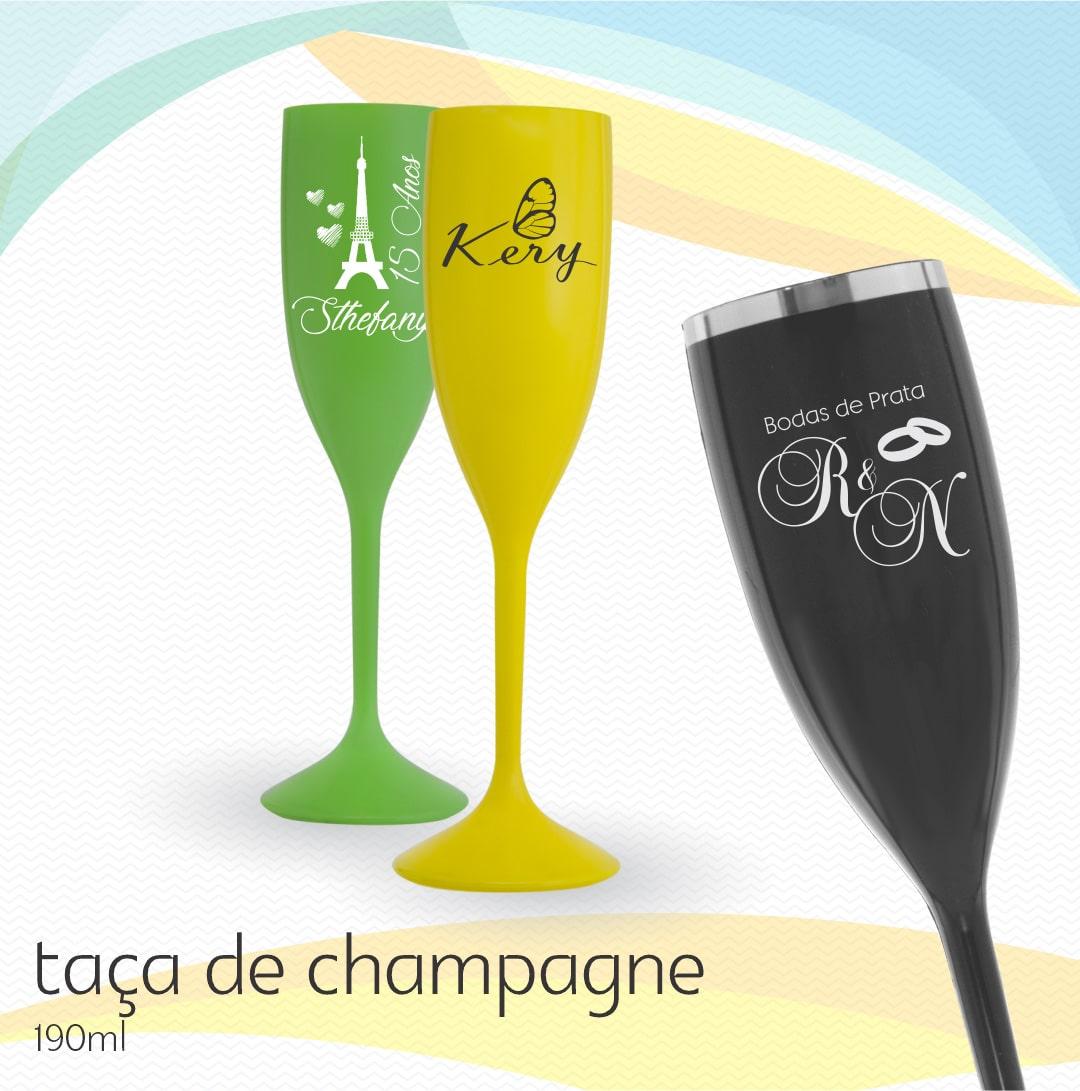 Taça Champagne Personalizada