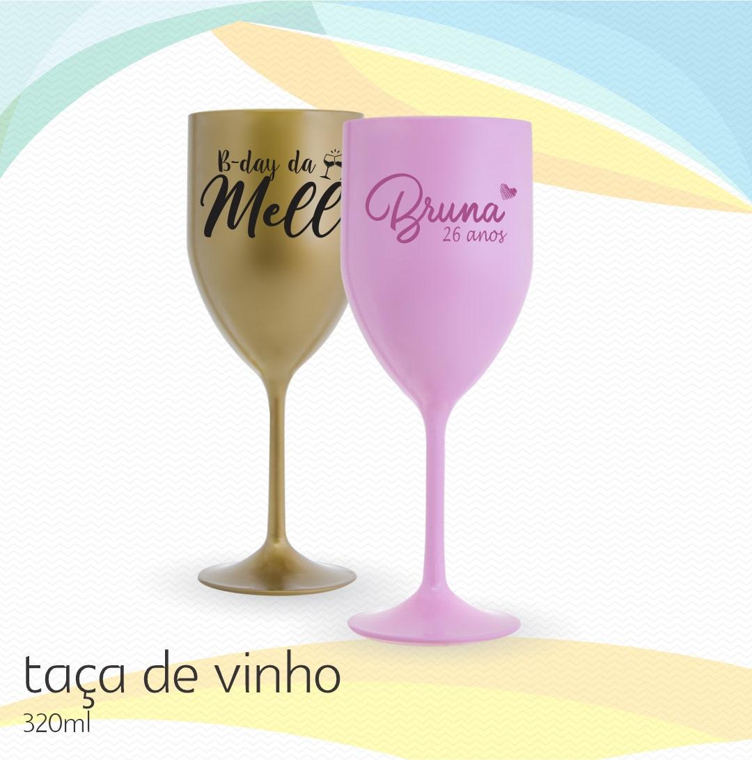 Taça Vinho Personalizada
