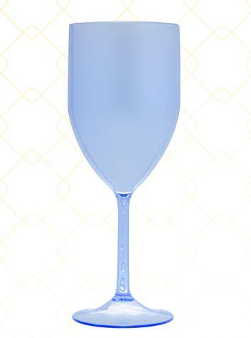 Taça Vinho 320 ml azul neon
