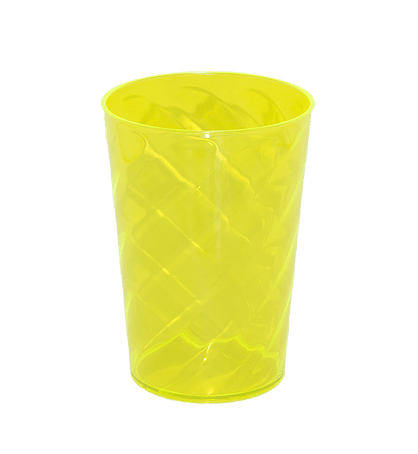 Copo Twister amarelo neon