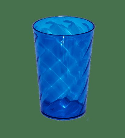 Copo Twister azul