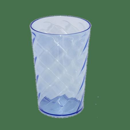 Copo Twister azul neon