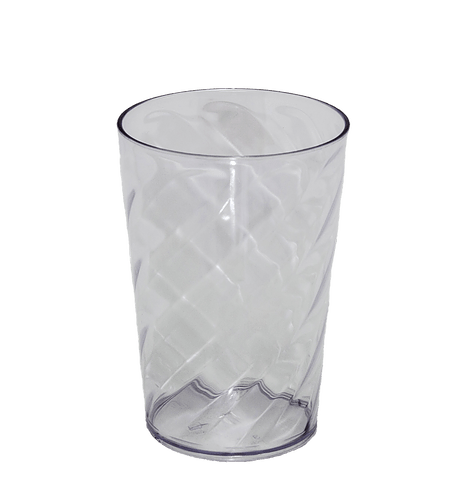 Copo Twister transparente