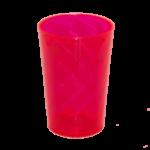 Copo Twister Vermelho neon