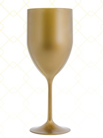 Taça Vinho 320 ml dourado
