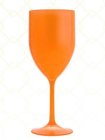 Taça Vinho 320 ml laranja