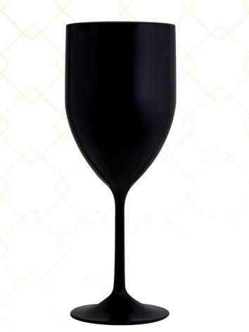 Taça Vinho 320 ml preto