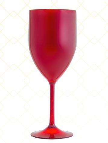 Taça Vinho 320 ml vermelho