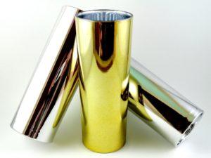 Copo Metalizado Dourado