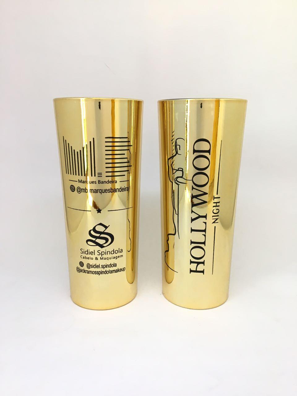 Copo Long Drink Metalizado