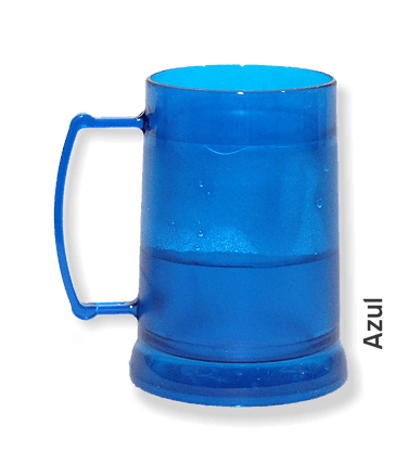 Caneca de Gel azul