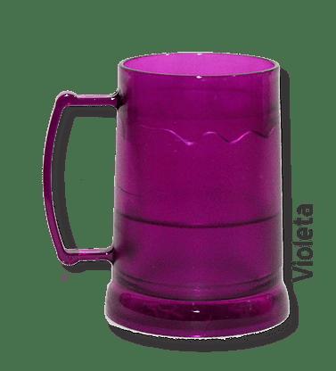 Caneca de Gel Violeta