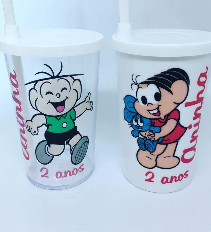 Copo Kids Turma da Mônica