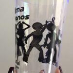 copo personalizado com erro