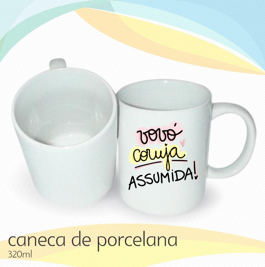 Canecas de Porcelana Personalizadas